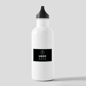 Green Uber Eats Logo Stainless Water Bottle 1.0L