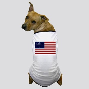 The Union Civil War Flag Dog T-Shirt