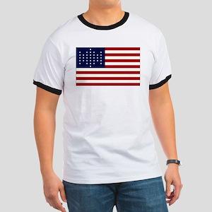 The Union Civil War Flag Ringer T