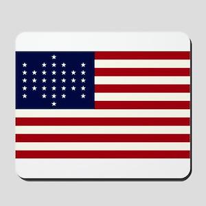 The Union Civil War Flag Mousepad