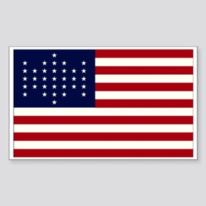 The Union Civil War Flag Rectangle Sticker