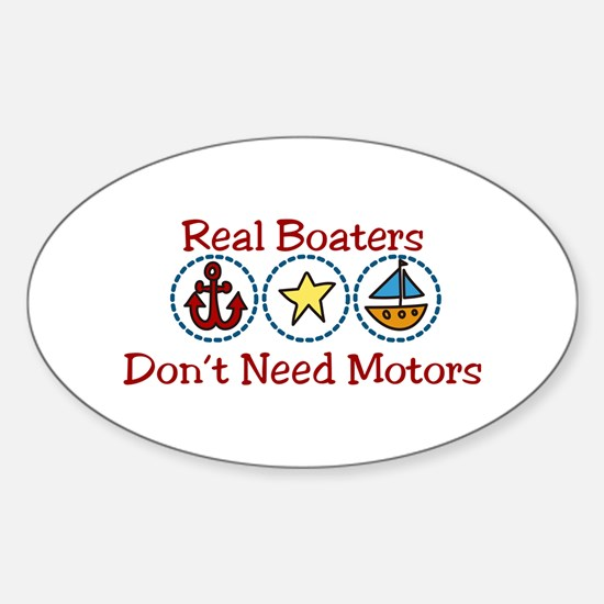 Real Boaters Decal