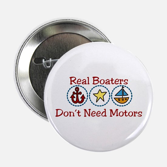 "Real Boaters 2.25"" Button"