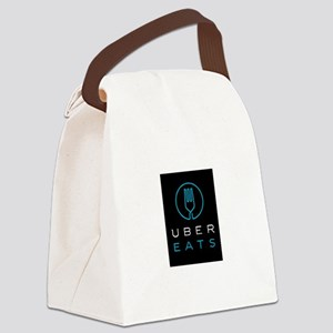 Uber Eats Design Canvas Lunch Bag