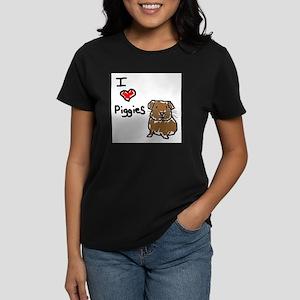 Rainbow Guinea Pigs Women's Dark T-Shirt