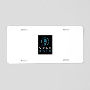 Uber Eats Design Aluminum License Plate