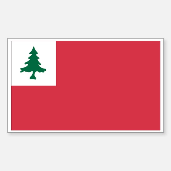 Continental Flag Rectangle Decal