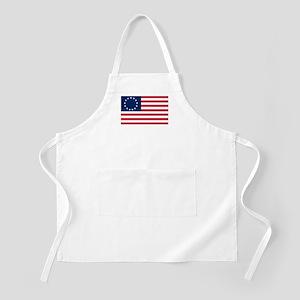 Betsy Ross flag BBQ Apron