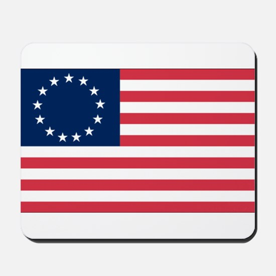 Betsy Ross flag Mousepad