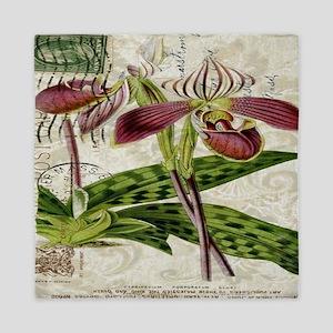 orchid french botanical art paris fashion Queen Du