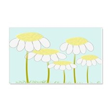 Whimsical Daisies AR Wall Decal