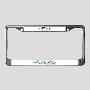 DogtoothTuna License Plate Frame