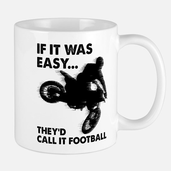 If It Was Easy Theyd Call It Football Mugs