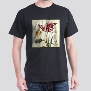 orchid french botanical art paris fashion T-Shirt