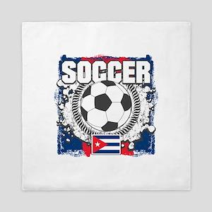 Soccer Cuba Queen Duvet