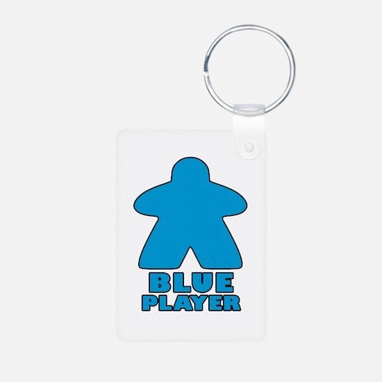 Blue Player Keychains