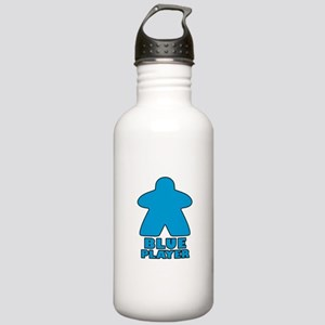 Blue Player Water Bottle