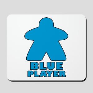 Blue Player Mousepad