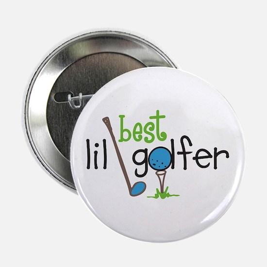 """Best Lil Golfer 2.25"""" Button"""