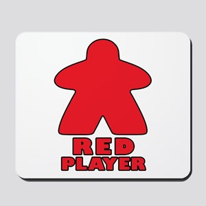 Red Player Mousepad