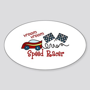 vroom vroom speed racer Sticker