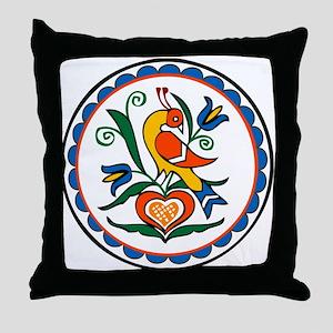 Distlefink Hex Throw Pillow