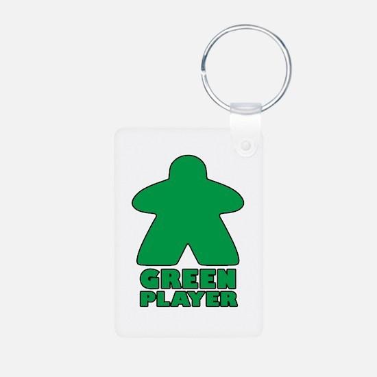 Green Player Keychains