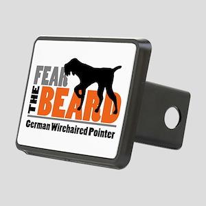 Fear The Beard - Gwp Rectangular Hitch Cover