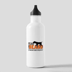 Fear The Beard - Gwp Stainless Water Bottle 1.0l