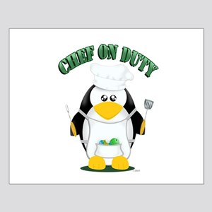 Chef on Duty Penguin Posters