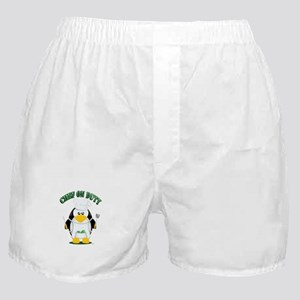 Chef on Duty Penguin Boxer Shorts