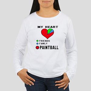 My Heart Friends, Fami Women's Long Sleeve T-Shirt