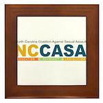 NCCASA Full Logo Framed Tile
