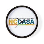 NCCASA Full Logo Wall Clock