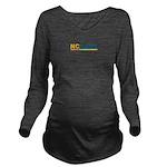 NCCASA Full Logo Long Sleeve Maternity T-Shirt
