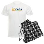 NCCASA Full Logo Men's Light Pajamas