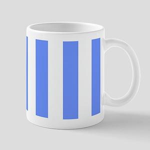 Cornflower Blue Stripes Mugs