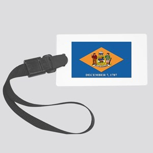 Flag of Delaware Large Luggage Tag