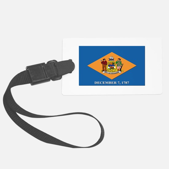 Flag of Delaware Luggage Tag