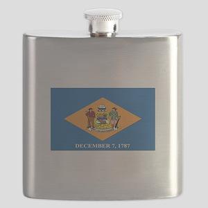 Flag of Delaware Flask