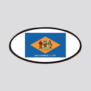 Flag of Delaware Patches