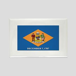 Flag of Delaware Rectangle Magnet