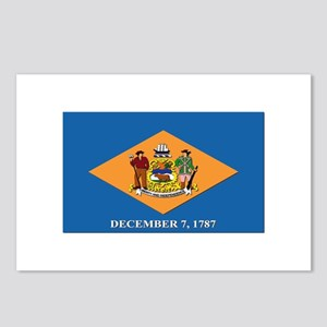 Flag of Delaware Postcards (Package of 8)