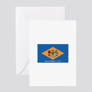 Flag of Delaware Greeting Card