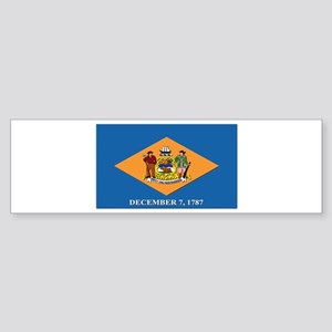 Flag of Delaware Sticker (Bumper)