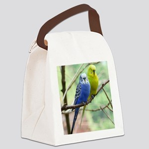 Budgie Canvas Lunch Bag