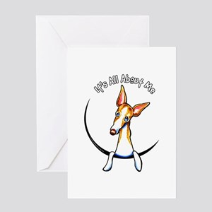 Ibizan Hound IAAM Greeting Card