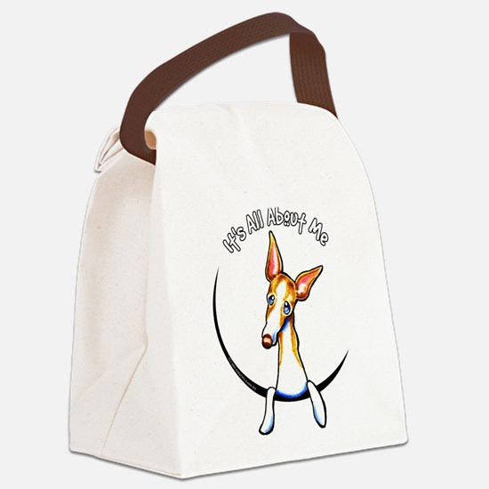 Ibizan Hound IAAM Canvas Lunch Bag