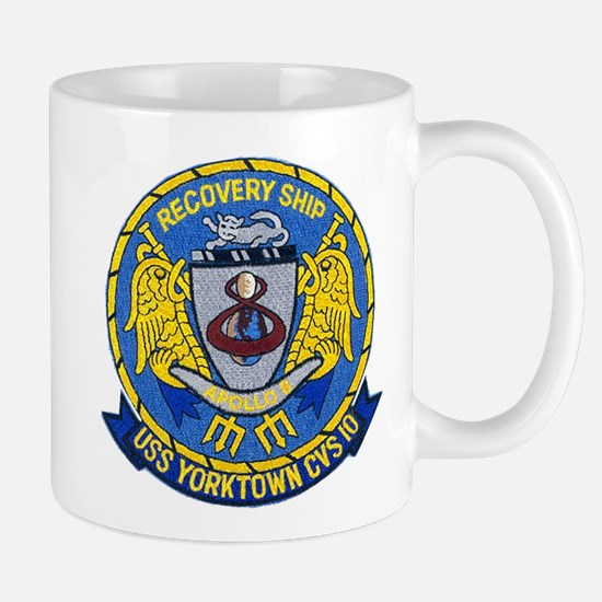 USS Yorktown Apollo 8 Mug