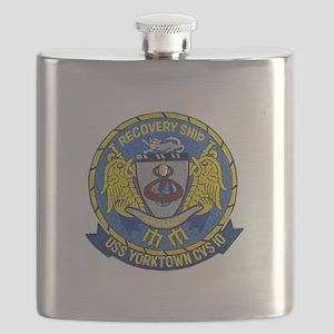 USS Yorktown Apollo 8 Flask